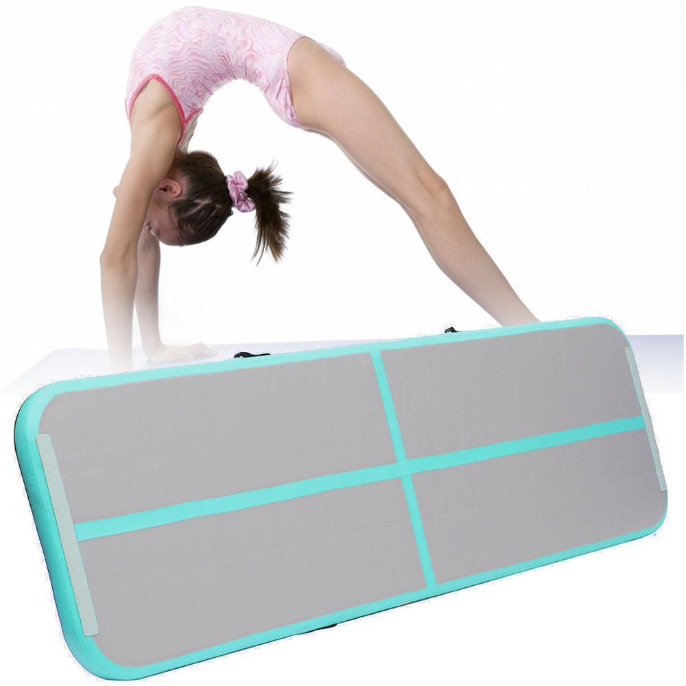 3M 4M 5M pista gonfiabile AirTrack Ginnastica tappeti tappeto tappetini per ginnasta regalo Yoga / formazione / danza / taekwondo / palestra