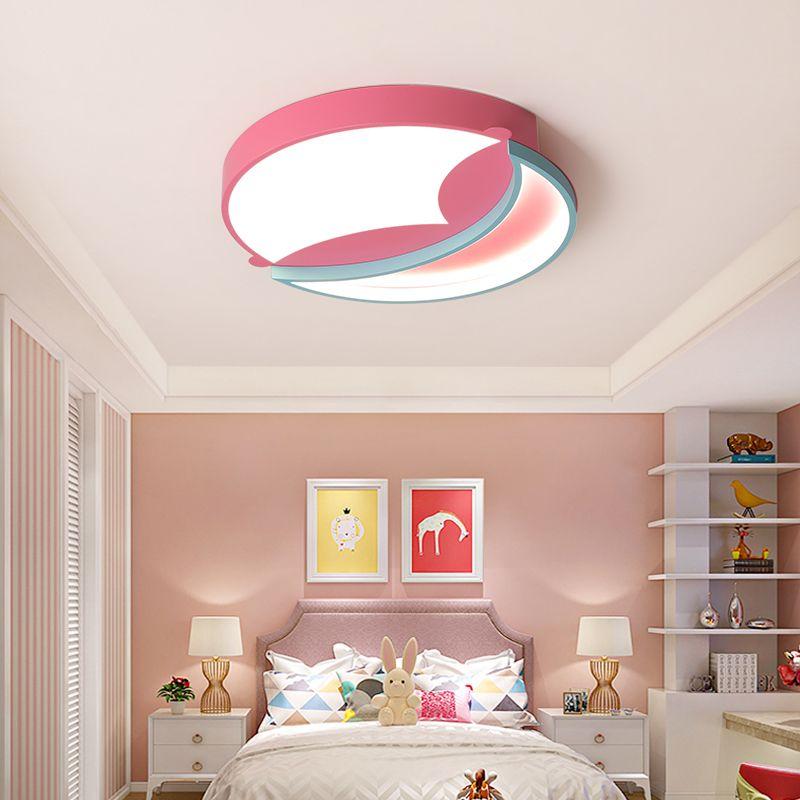 Современная люстра для гостиной спальня Розовый Голубой Дети младенца мальчики девочки принцессы потолочного освещения Lamp Люстры для дома