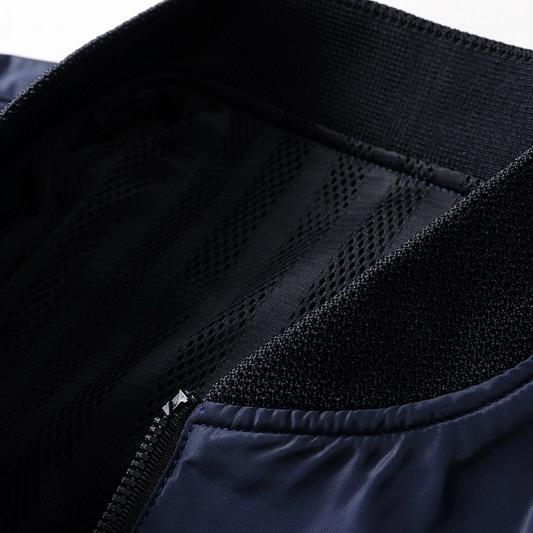 Marke Mens Designer Reine Farbe Herbst Frühling Winter Langarm Jacken Reißverschluss Fomal Mature Bussiness Mäntel Oberbekleidung Top Qualität B100236V