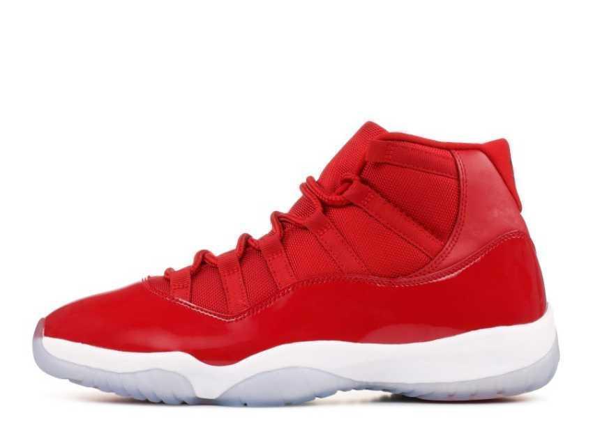Version Factory Top 11 Gewinnen Sie wie 96 weiß rot Basketball Schuhe Mens Trainer neue Turnschuhe mit Box von Michael Sports
