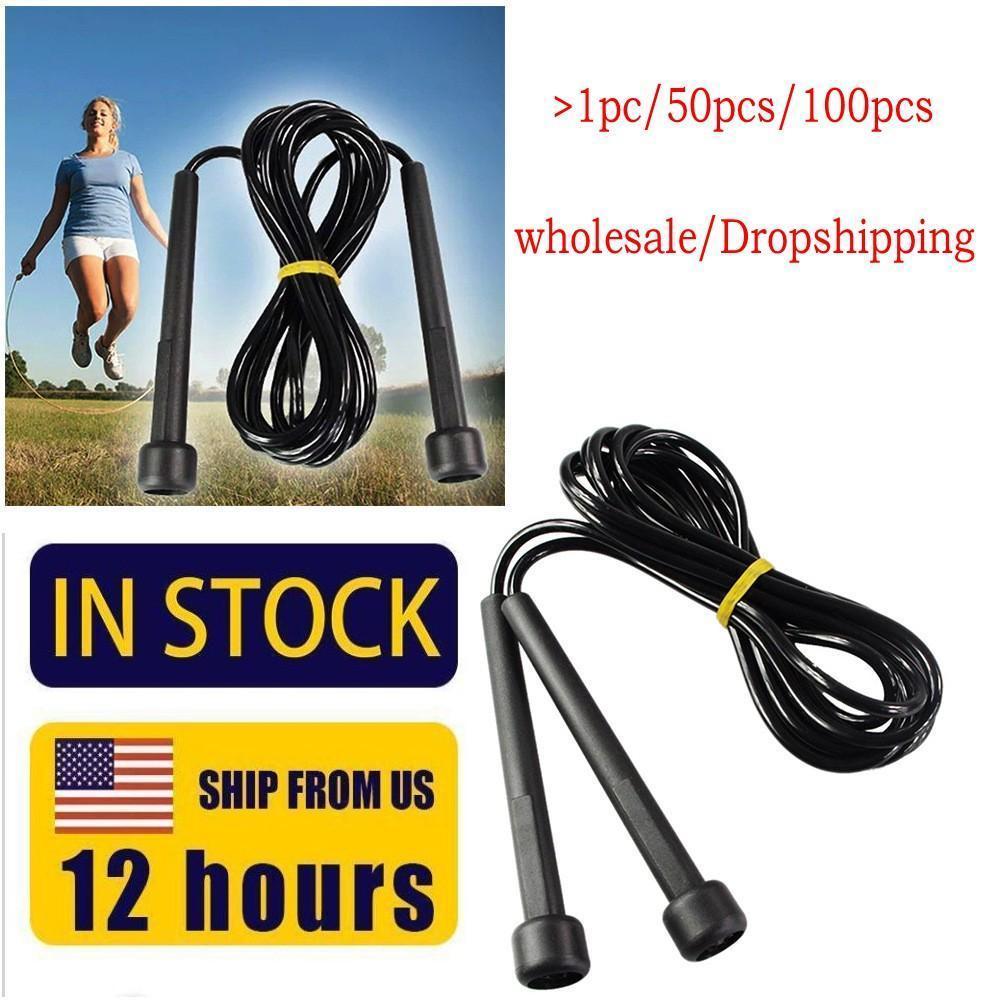 EEUU Stock Dropshipping Saltar la cuerda ajustable ejercicio aeróbico boxeo Teniendo FY7050 velocidad de fitness Equipos Cuerda de salto de Formación
