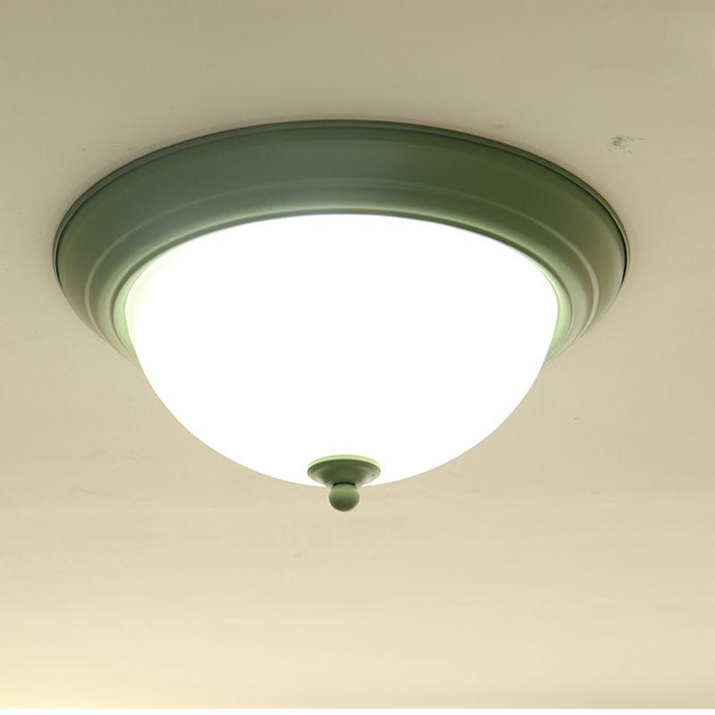 Modern levou Lâmpada de Teto Mini Luz De Teto De Vidro Verde Para O Corredor Do Corredor Corredor Sala de estar Quarto Sala de Iluminação Em Casa F111