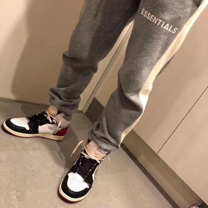 Essentials Sweatpants Homens WomenB Qualidade 2019 New Corredores Drawstring calças calças calças de suor