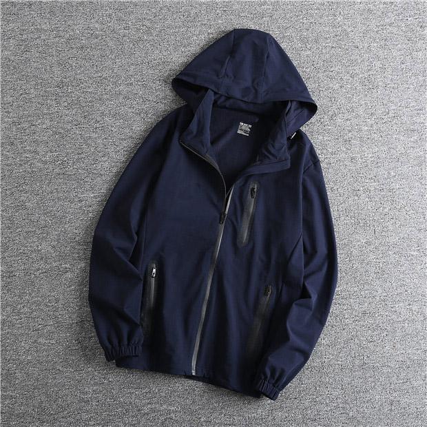 2020 nuevo diseñador para hombre Moda suelta rompevientos marca de alta calidad de manga larga y de color natural para la capa con la QSL198238 Tamaño de la chaqueta del deporte
