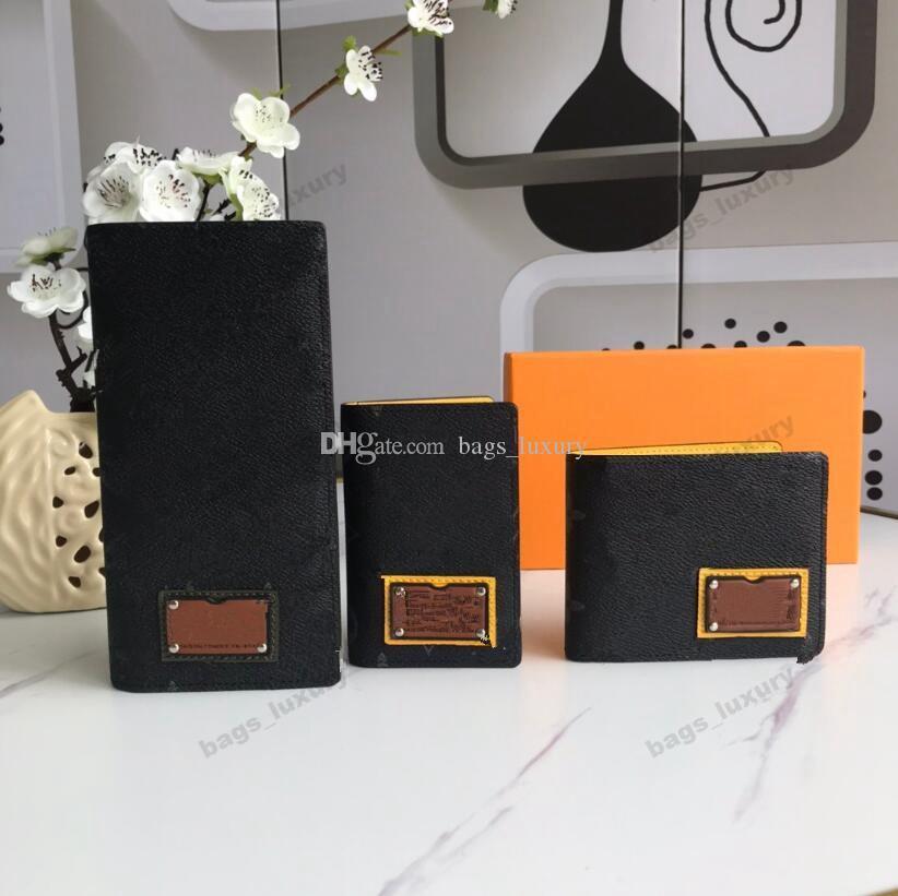 Homme véritable homme européen cuir unisexe style de haute qualité business classique carte portefeuilles portefeuille sac sac à main sacs à main chaud 3 pewj