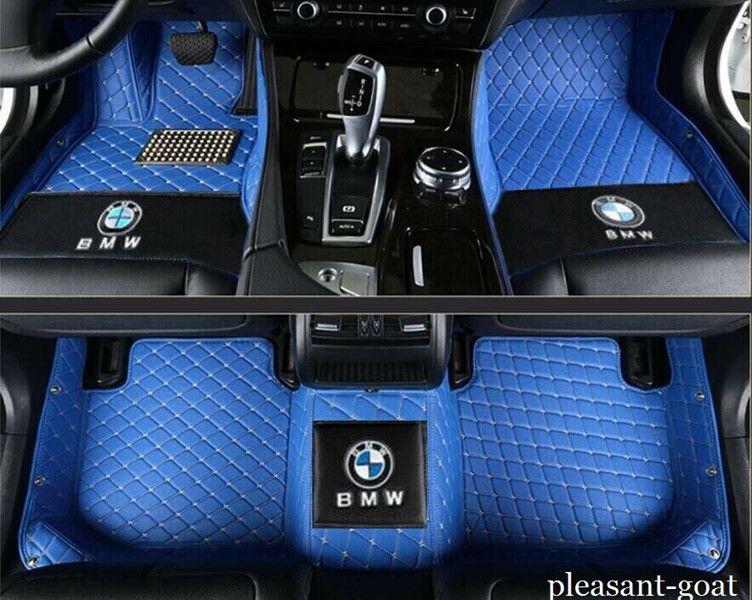 Para BMW Serie 3 2013-2020 de coches Tapetes Alfombras almohadillas impermeables Mat Auto MatsWaterproof del coche del cojín Alfombras alfombra del piso para no tóxico y sin olor
