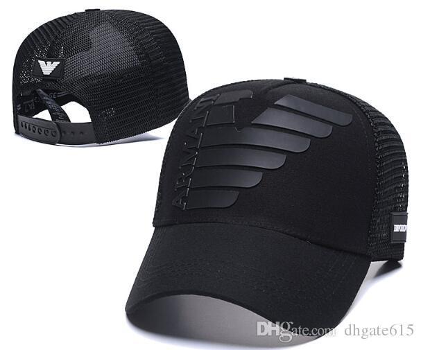 Marcas de luxo cap Troca EA AX 7 JEANS Homens Mulheres sunhat Snapback osso Golf viseira Esporte chapéu Casquette GORRAS Headwear ajustável Cap 05