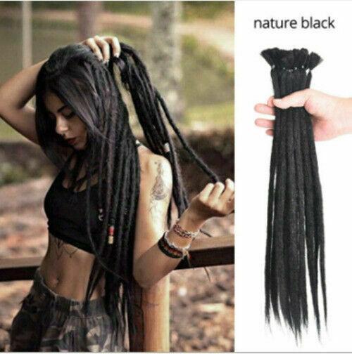 Afro Dreadlocks torcedura sintético CrochetBraid Dreads extensiones de pelo