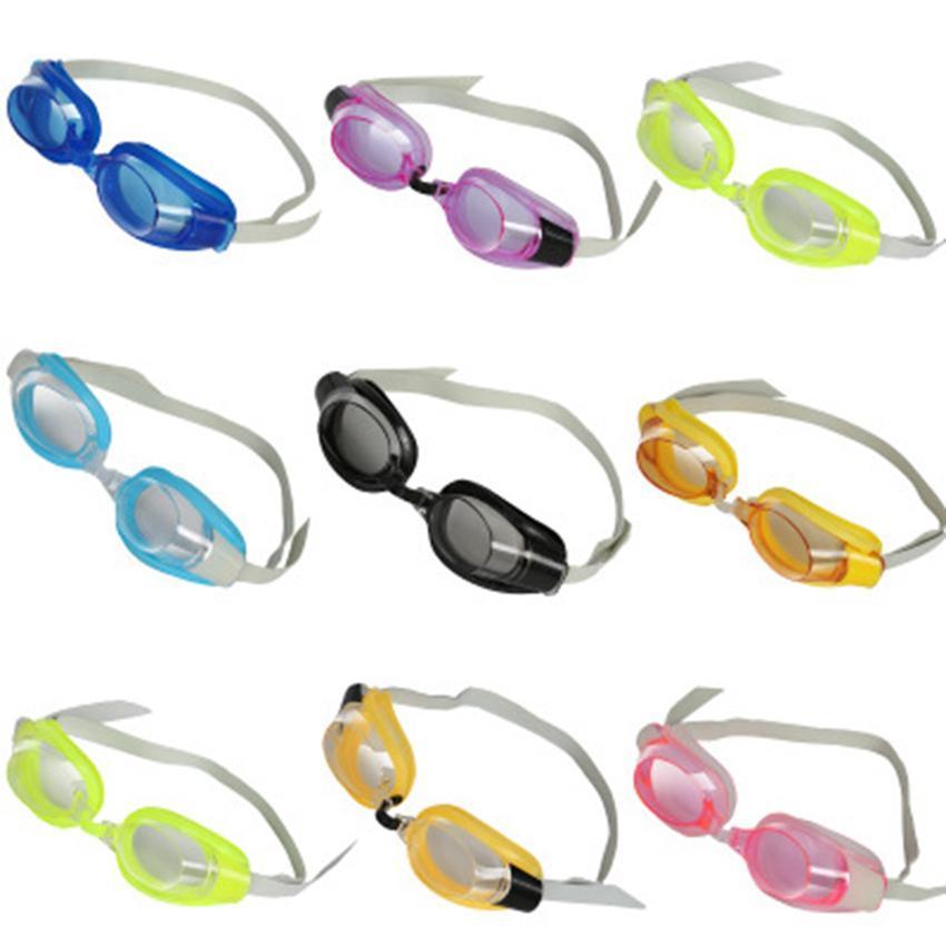 Piscina de alta definição óculos treinamento caçoa o Goggles um conjunto com tampão + clipe nasal + óculos de proteção ajustável Diving Goggles LJJZ608