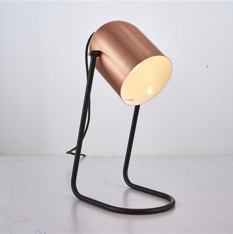 Lámpara Color Compre Oro La Moderna Pequeño Giratorio Escritorio Bronce Y De Metal Lámpara Taller Y Antiguo Cobre De Color De Para Pequeña Mesa gbf7y6YvI