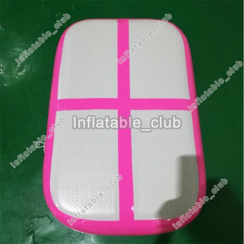 Günstigen preis aufblasbare air board / air block zum verkauf mini luftkissenbahn für gym dwf aufblasbare luftmatratze 1 * 0,6 * 0,1 mt