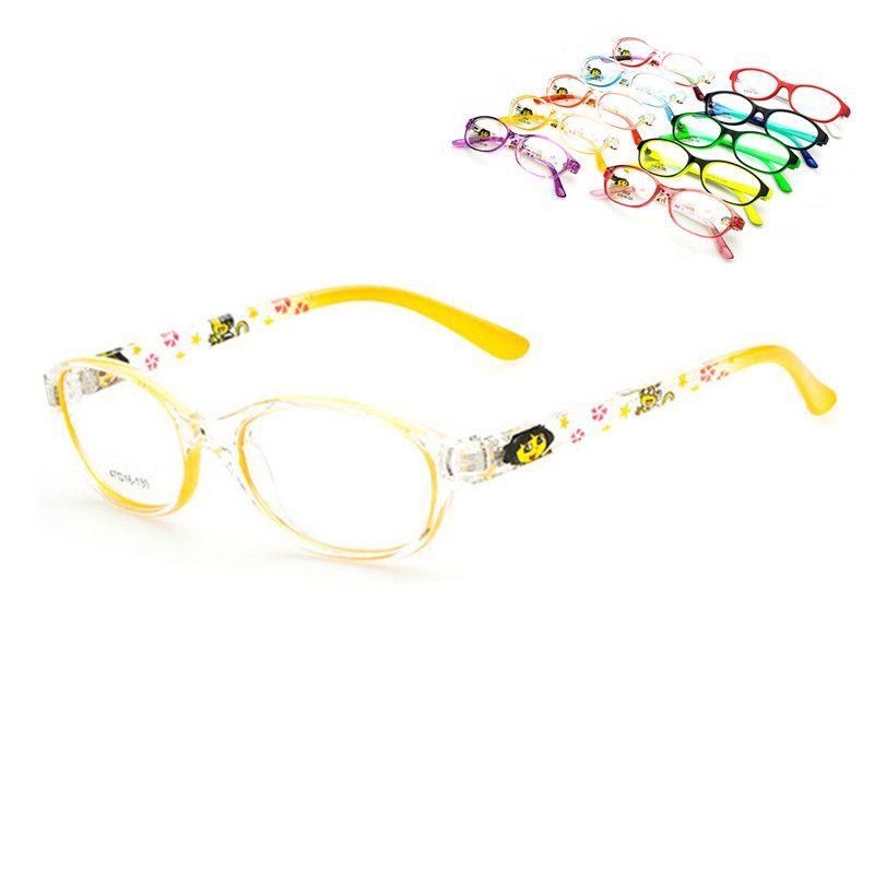 Brand New Fashion Children Full Rim Eyeglass Frames myopia Rx able child kid Boy Girl Glasses Spectacles