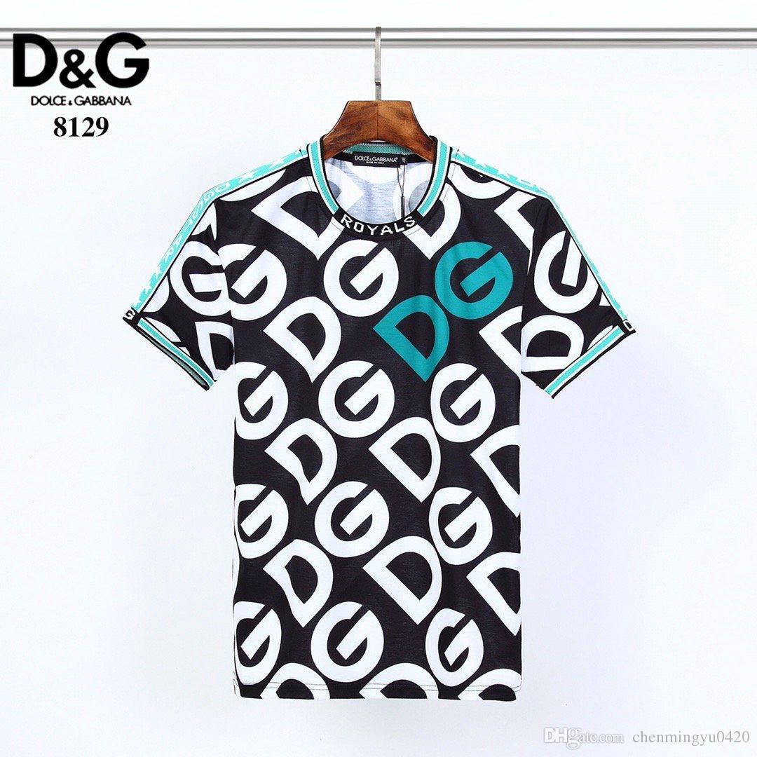 Erkekler Yaz yeni ürün T Gömlek Moda Kısa Kollu T-shirt Giyim Casual Kafatası Harf baskı Kalça yeni stil Adam tişört 0027 clothin # Hop