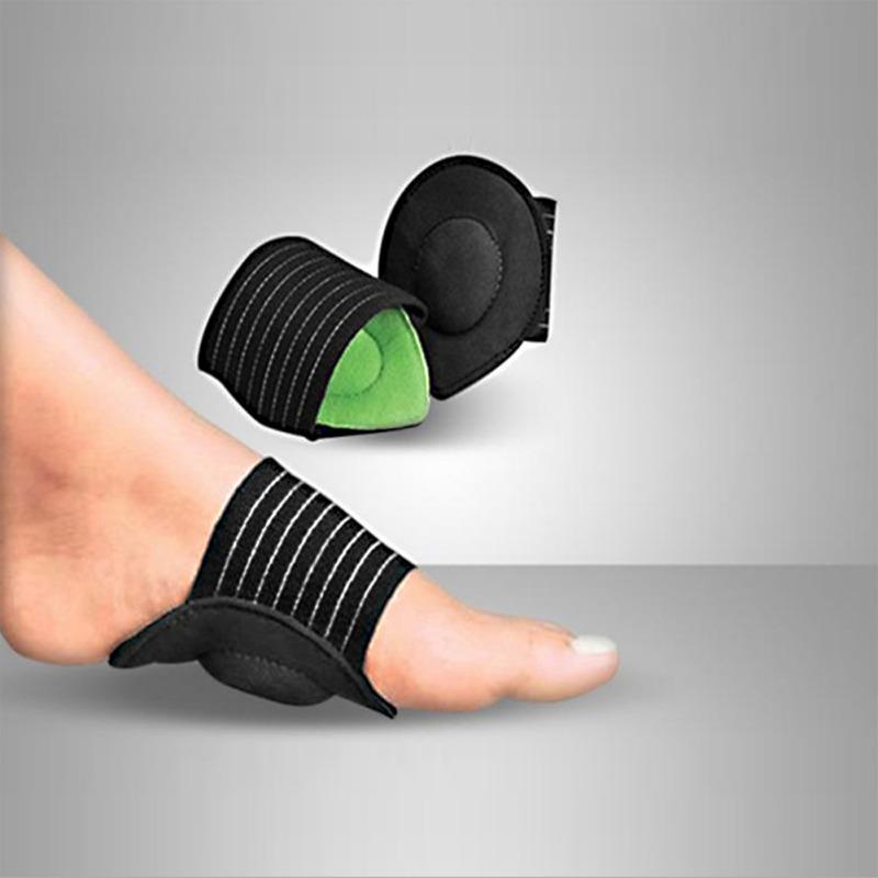 الجديد الوحيد دعم الوسادة التصحيحية أحذية شقة القدم الألم التهاب اللفافة الأخمصية القوس شقة القدم BracesK