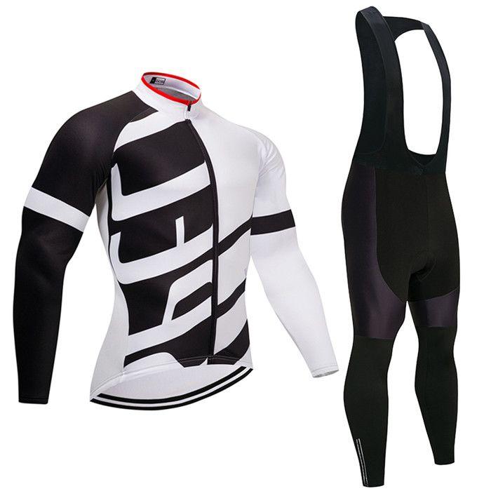 776dd6f163 2019 newTeam Conjunto de camisetas de ciclismo para hombre, ropa térmica de  invierno para ciclistas ...