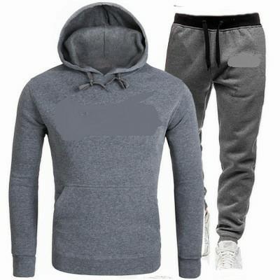 Faixa Suit ClothesMen Sportswear Hoodies Pants Set Primavera Casual Treino Men Moletons Coats Masculino Corredores de rua