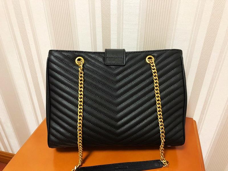 32 cm bolsas de moda mujeres totes nuevos bolsos de cuero genuino bolsas de hombro mujeres elegante dama envío gratis buen trabajo