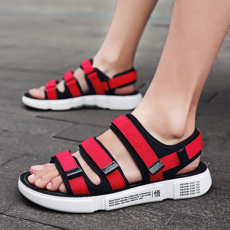 Летние сандалии для мужчин обувь пляжные сандалии Гладиатор 2020 мужская открытый свободного покроя любителей обувь вьетнамки мужчины погрузит Mannen
