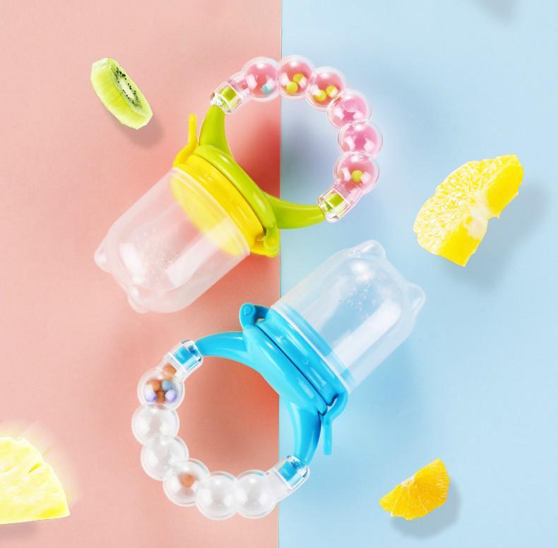 Pacificateurs # 1PCS Vis de végétale Vis de fruits de légumes Propulsion bébé Silicone sucette bébé dentition jouet de dentition de teeher Fournitures Safe Safe Nipple