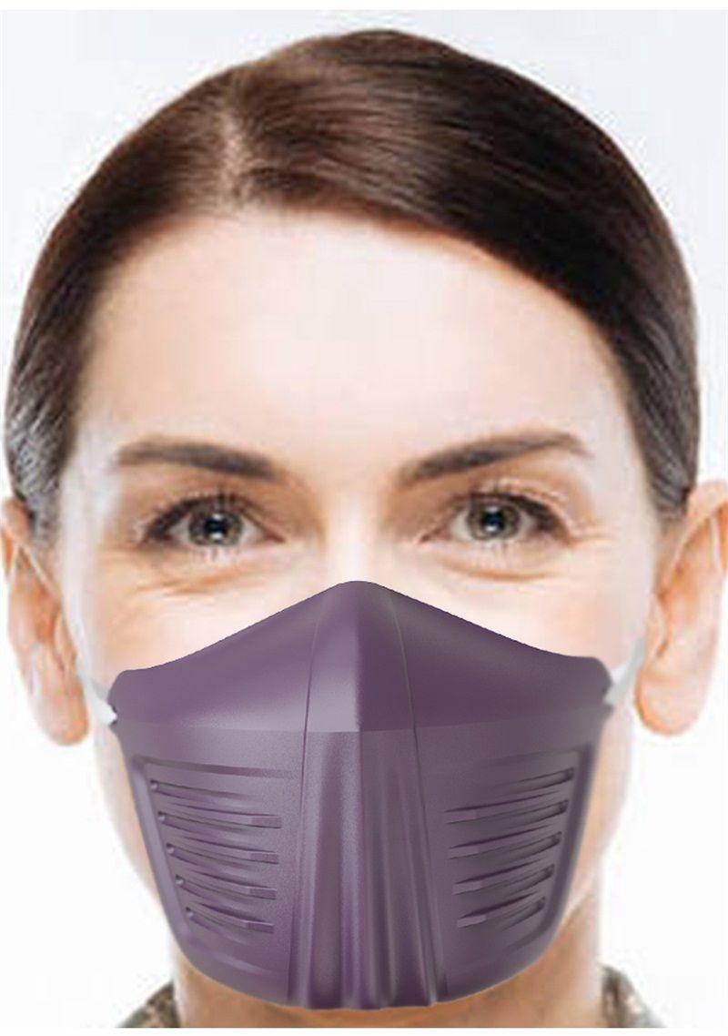 En stock Stereo Half Shield Visage Anti Earloop Type de Saliva particules Brouillard protection anti-poussière Masque de masques de couverture de bouche E1