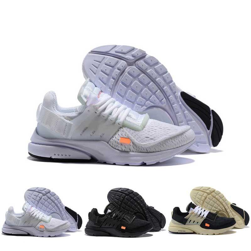Nuovo Presto BR QS Mens Womens Triple nero bianco Breathe Greedy Oreo Grey calzino del pattino di dardo scarpe casual fashion designer EUR36-45