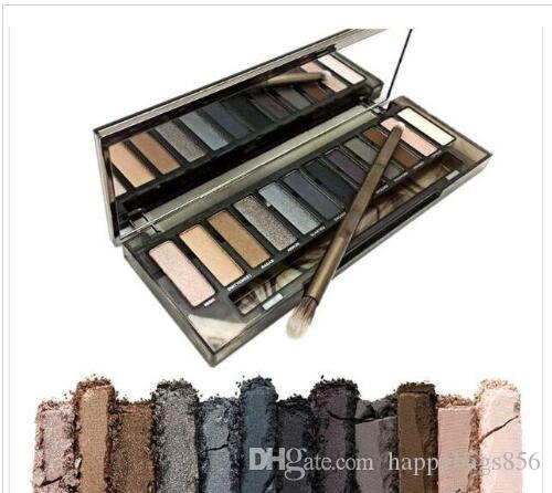 MYG Füme Göz Farı Dumanlı Palette 12 Renk Göz Farı Paleti Yüksek Kalite Göz Farı tablaları Ücretsiz Kargo