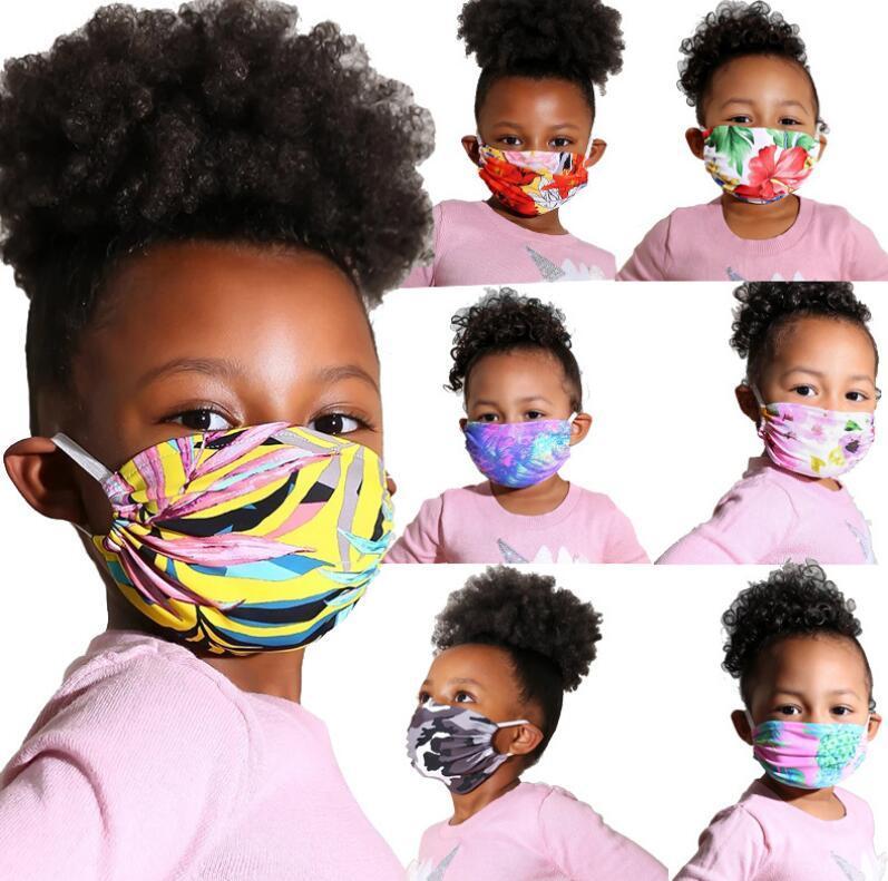 Máscara cara moda al aire libre máscaras máscaras protectores ciclismo polvo a prueba de polvo a prueba de ultravioleta letra a prueba de deportes estilo estampado boca mascarillas niños vmkg
