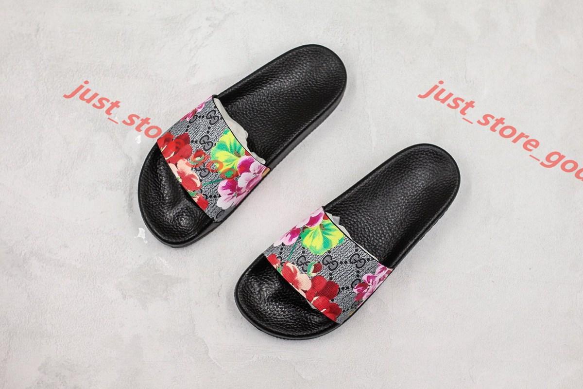Gucci flip flop xshfbcl Männer Frauen Sandalen Progettista Schuhe Luxus Slide Summer Best Fashion breite flache Slippery Sandalepantoffel Größe 35-45 Blume