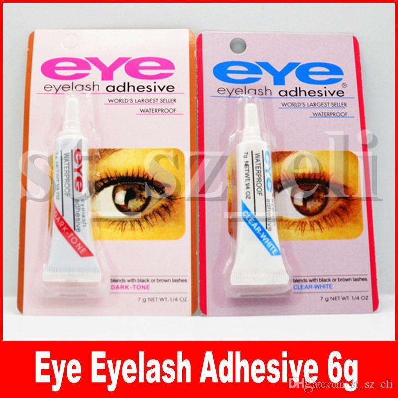 New Adhesive False Eyelashes Eye Lash Glue Makeup Clear White Black Waterproof Makeup Tools 7g