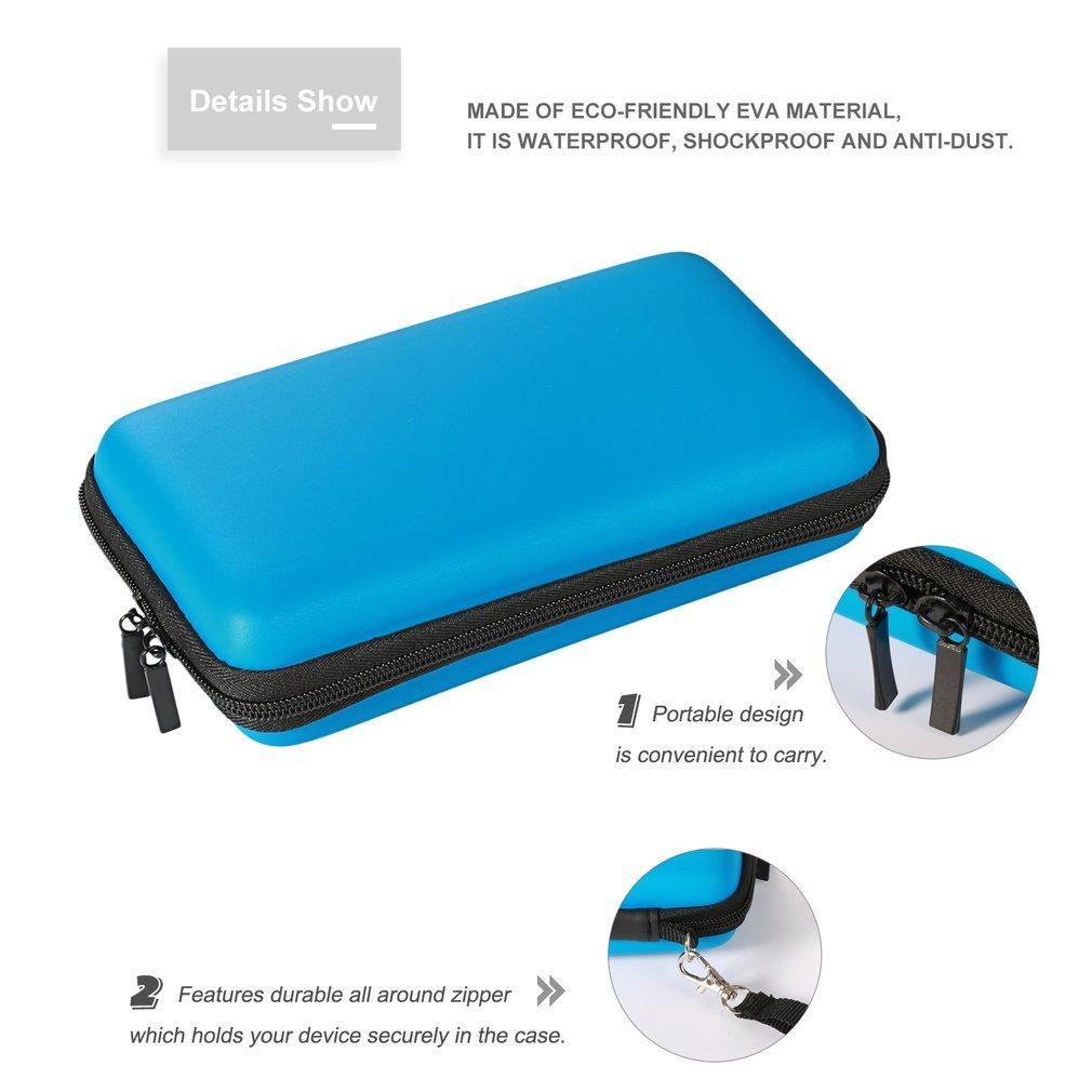Sert Bags Vaka İçin Nintend 2DSLL Taşıma Taşınabilir EVA taşıma çantası Oyun Konsolu Aksesuar Anti-şok Çantası Seyahat