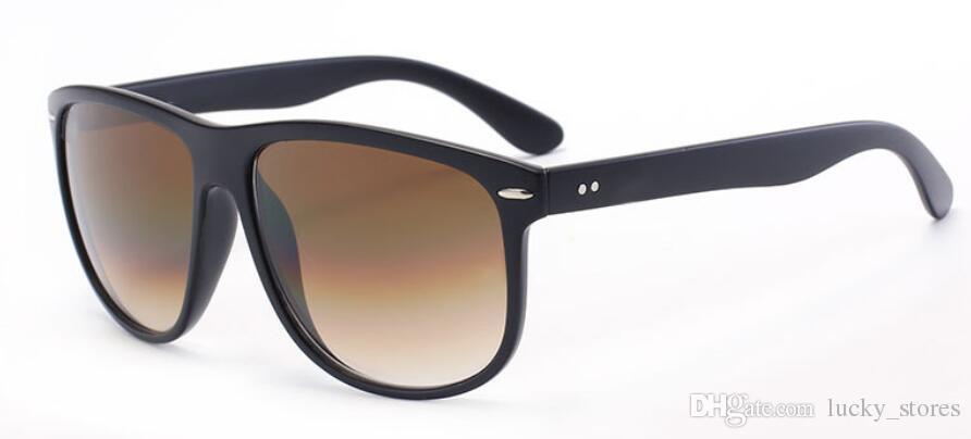 Moda grande óculos de sol quadrados homens mulheres desenhador sol óculos marca para senhoras transparentes vintage ontyewear 4147 com casos