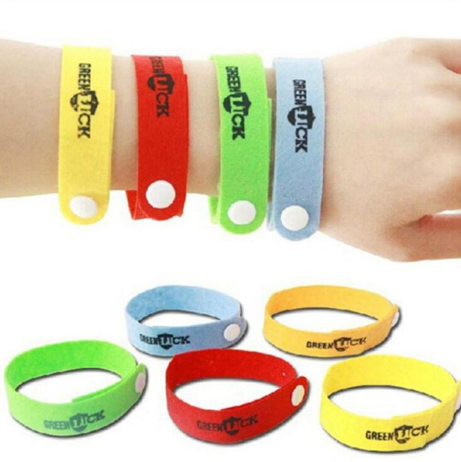 Anti Mosquito Wristband Non Woven Mosquito killer Eco Friendly Insect Bugs Repellent Bracelet Party Favor 5000pcs OOA8112