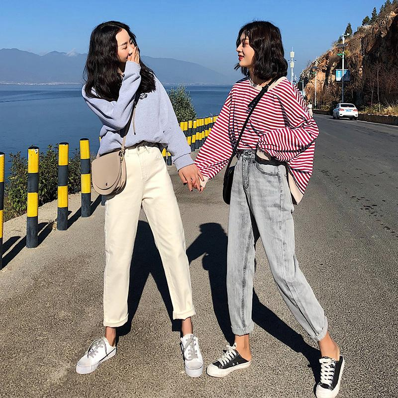 High Quality Series Harun Jean High Rise 2020 New Fashion Fit Relaxed Fashion Must-have Spring Summer Tapered Leg Jean 3165