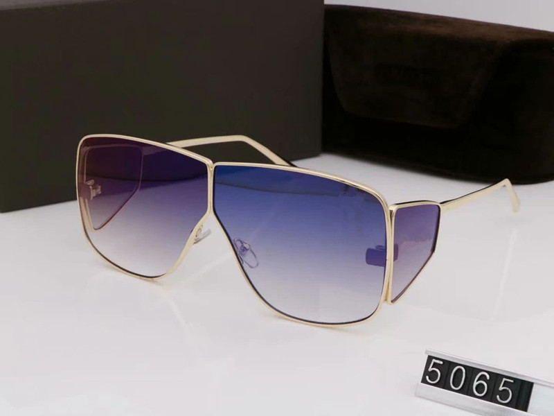 الفاخرة أعلى qualtiy الموضة 5065 توم نظارات للرجل امرأة اريكا نظارات فورد مصمم ماركة نظارات الشمس مع المربع الأصلي tom002