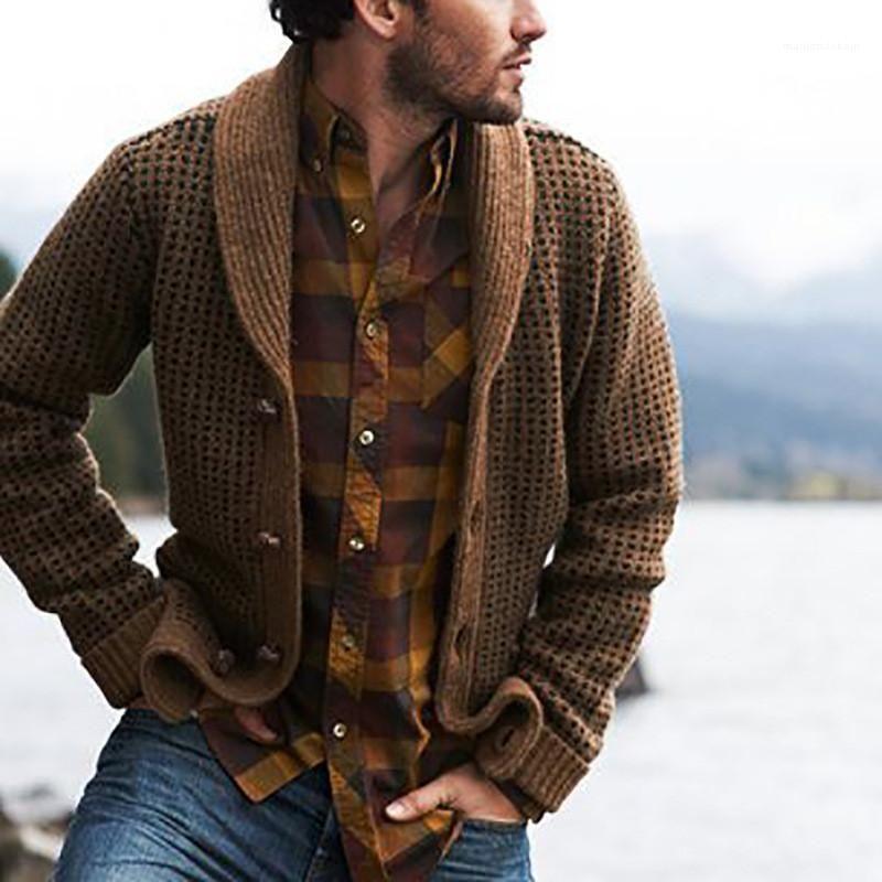 Ausschnitt Langarm Coduroy Mäntel der neuen Ankunfts-Designer Herren-Jacken-Herbst-Winter Mens Designer Jacken Fashion Solid Color-Revers