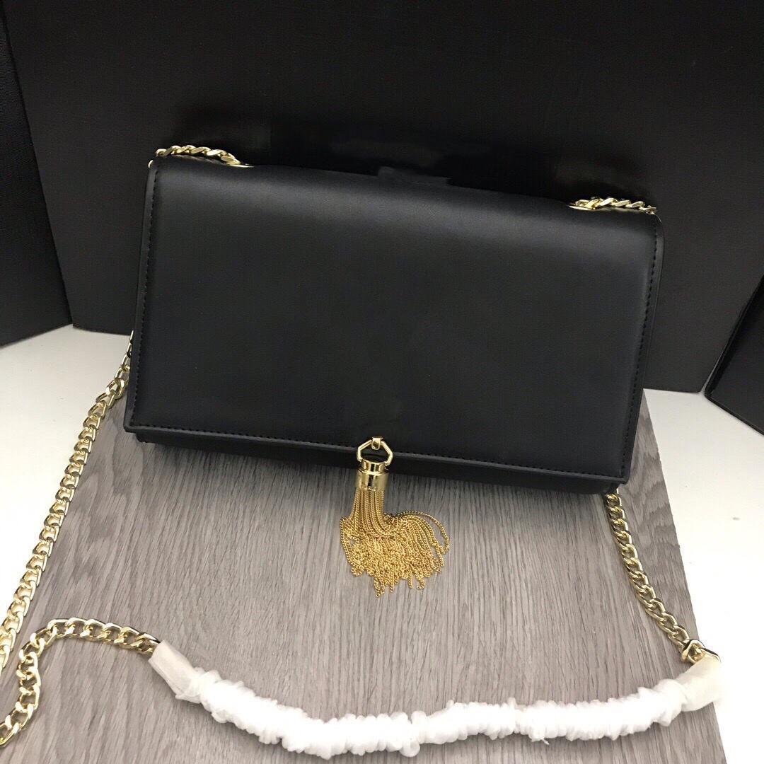 Saco de cadeia clássica senhoras mulheres designer bolsa bolsa de embreagem mulheres bolsa de couro bolsa de ombro totes saco crossbody