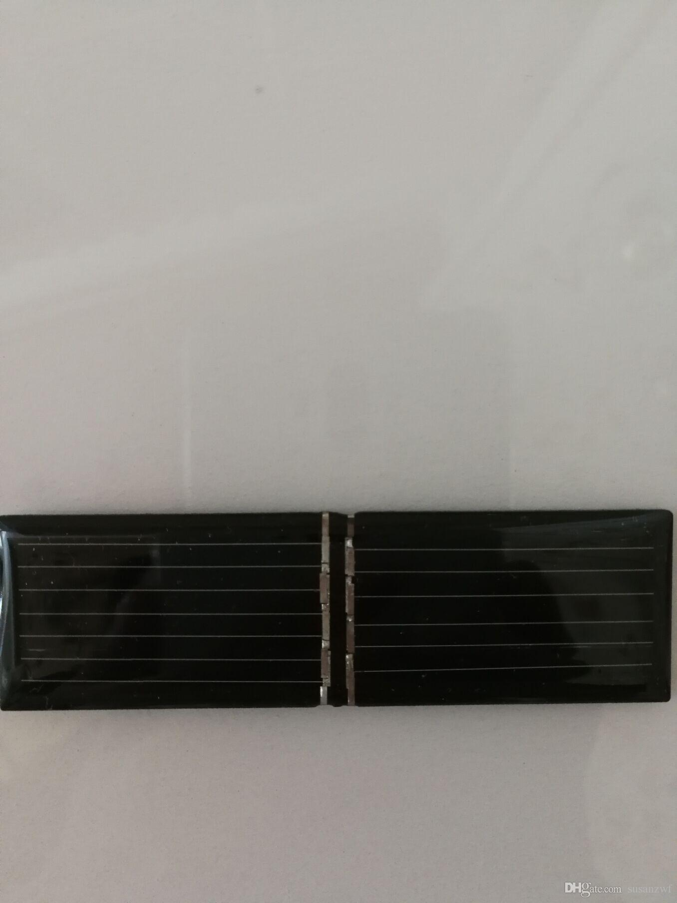 Freeship 100pcs solar panel cells accessorys 82x24mm 4V 55mA single-crystal silicon/DIY charger making accessorys/clean energy