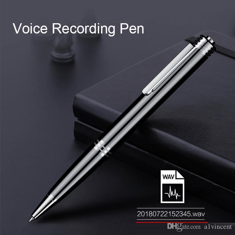 المهنية 8GB 24HRS وقت طويل القلم مسجل صوت رقمية صغيرة Activited الصوت تسجيل الصوت الكتابة