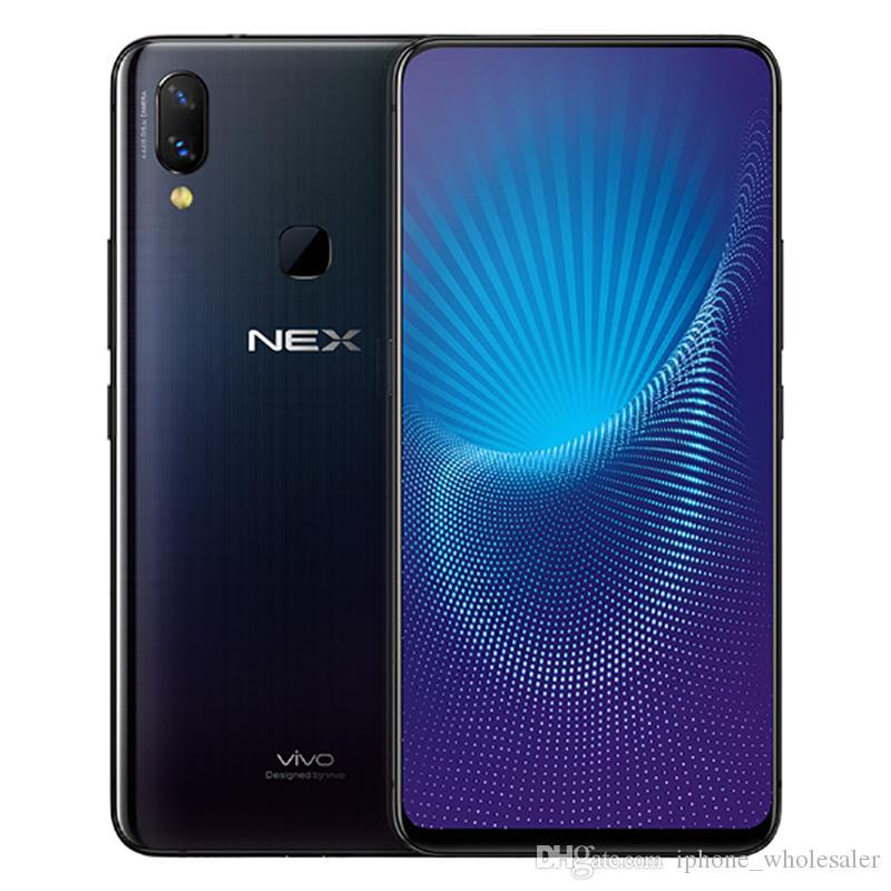 "Original Vivo Nex 4G LTE Cell Phone 6GB RAM 128GB ROM Snapdragon 710 Octa Core 6.59"" Full Screen 12MP OTG Fingerprint ID Smart Mobile Phone"