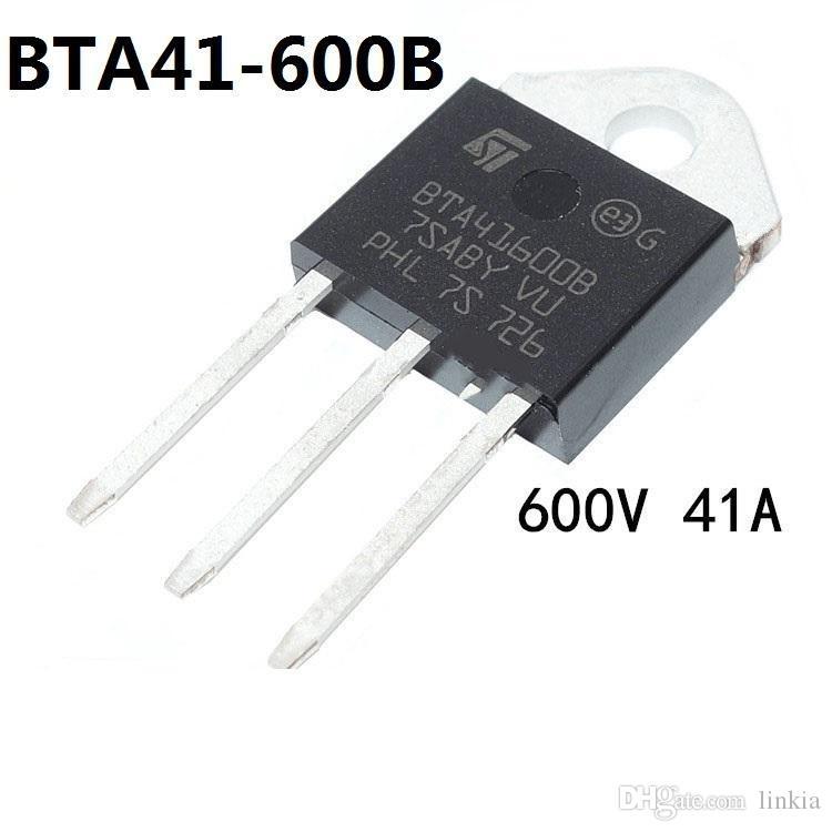 ST BTA41-600B TO-3P اتجاهين الثايرستور 600V 41A