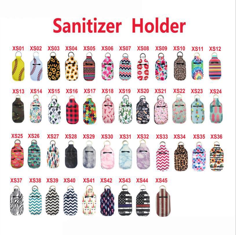 Punto di bottiglia per sanitizer a mano Sanitizer 30ml RTS PORTATILE MATERIALE PORTATILE PORTAFUMO PORTATORE Il supporto per il sanitizer può essere personalizzato