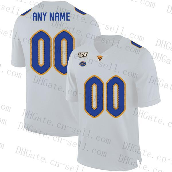 Personalizza Ncaa Pittsburgh Panthers Pitt Calcio Navy Blue Royal Gold bianchi Qualsiasi Nome Numero 24 CONNER 8 Kenny Pickett 12 Nick Patti Jersey
