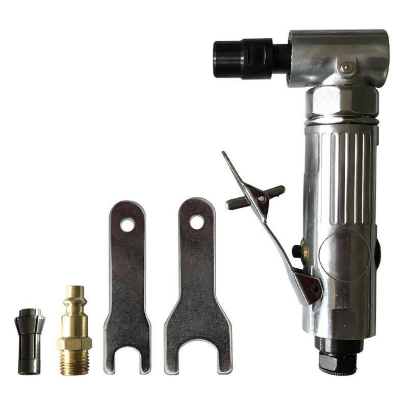 1/4 Inch Pneumatic Grinding Machine Cut Off Polisher Air Angle Die Grinder 3.15mm/6.15mm 2 Collets Mill Engraving Tools