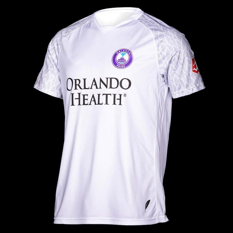 NWSL 2020 Orlando Pride adult Soccer Jerseys white shirt 20-21 Orlando Pride Men's Soccer Jerseys football Shirt Fans Tops