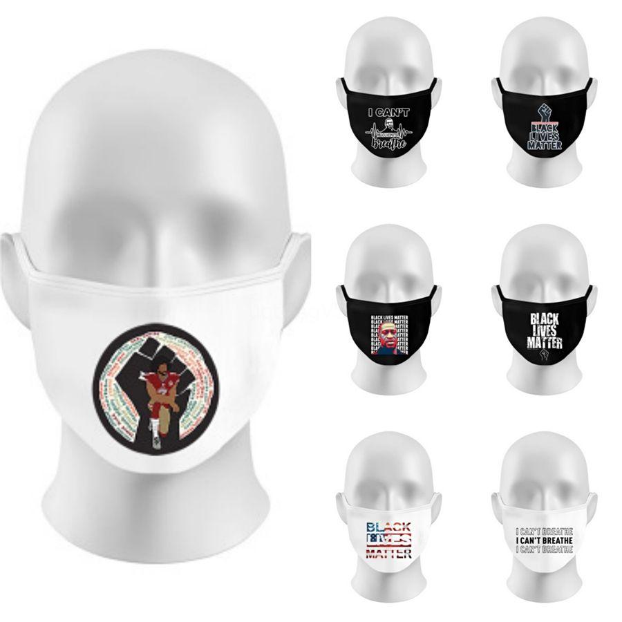 Letter 2020 Face Masks American Election Anti Dust Windproof 3D Letter Outdoor Washable Designer Letter Mask Ljja4030 #520