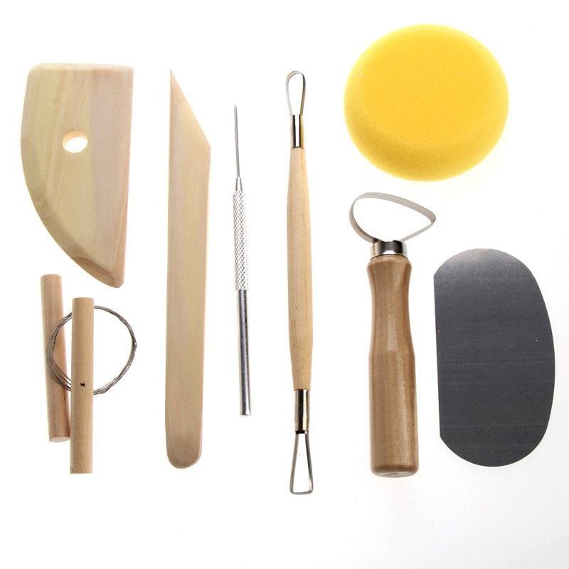 Keramikschlamm Ton Keramik Werkzeug Stanzschneider Formform Schnitzloch WF YIXUI