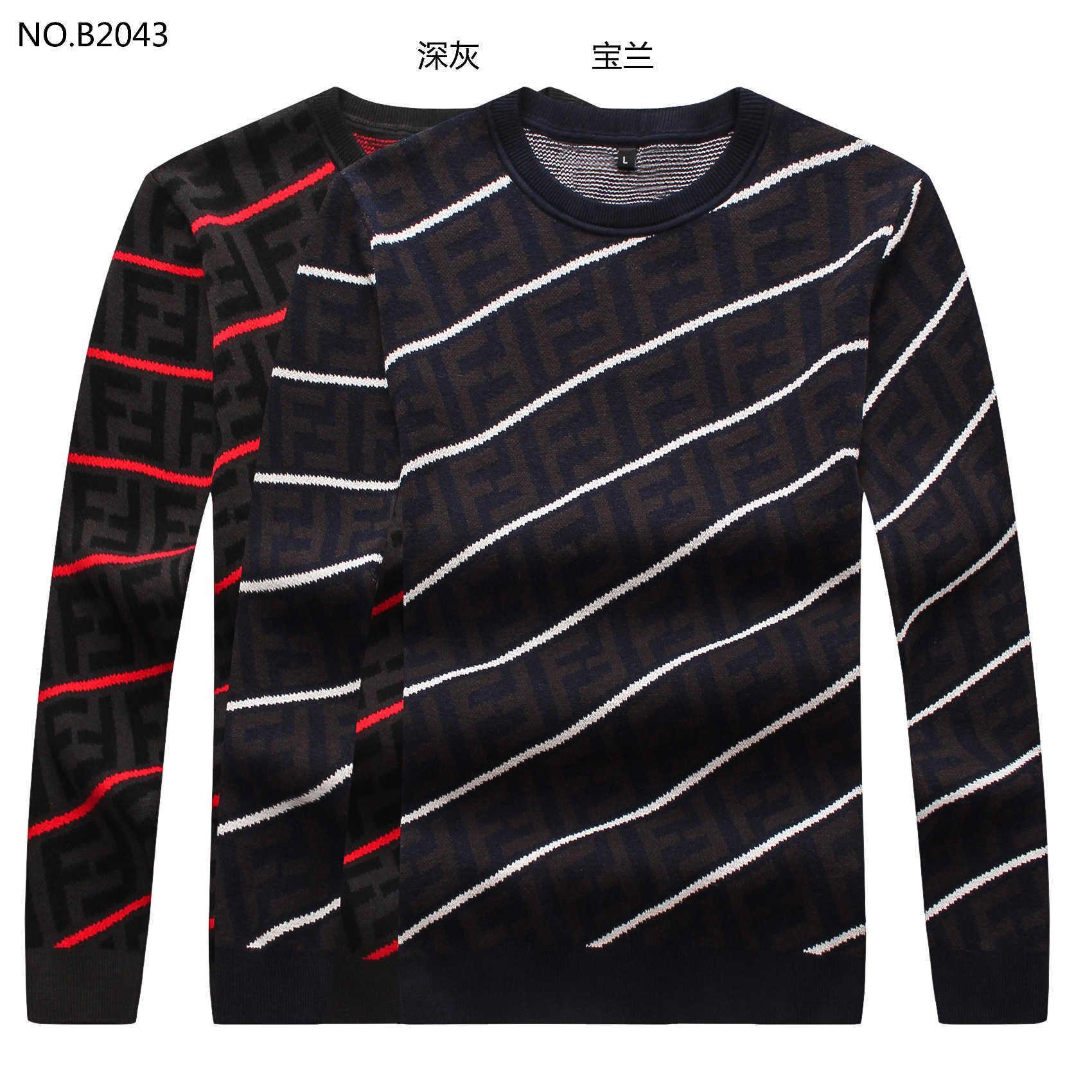 manga larga de 2019 nuevos hombres suéter de punto 191020399688