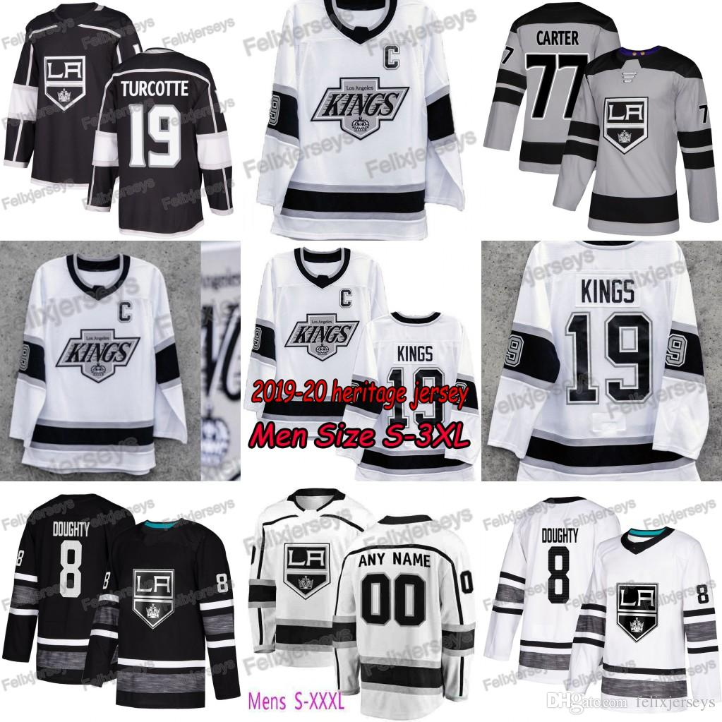 Drew Doughty LA Kings 90s Era Heritage Los Angeles Kings Anze Kopitar Dustin Brown Clifford Alex Jeff Carter Jonathan Quick Martin Frk