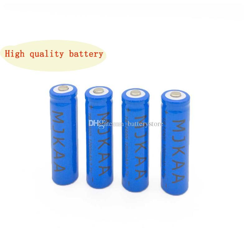 120PCS مبيعات المصنع مباشرة 1200mAh بطارية قابلة للشحن 3.7V 14500 مصباح يدوي البطارية البطارية AA بطارية ليثيوم أيون لمضيا