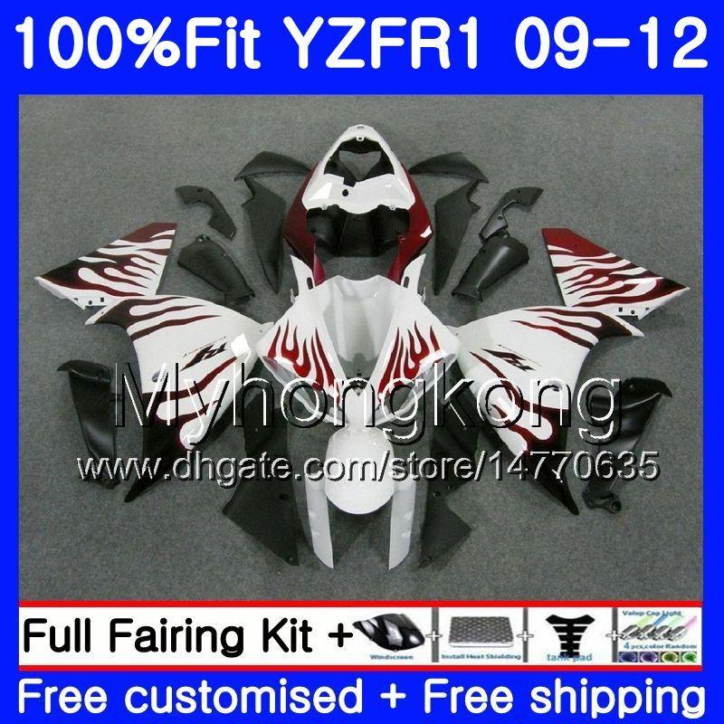 YZF 1000 R 1 YZF R1 2009 2010 2011 241HM.38 YZF-1000 YZF-R1 YZF1000 YZFR1 09 10 11 12 페어링 키트